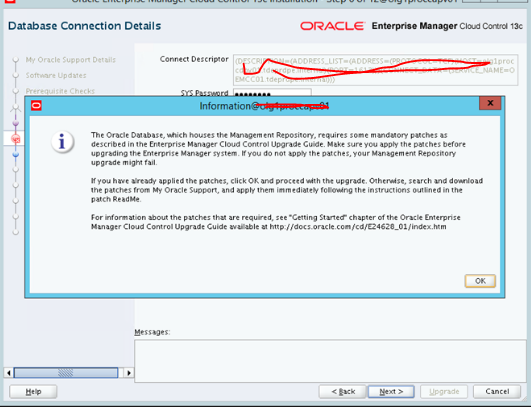 Step by step Upgrade cloud control from 13cR1 to 13cR2 (13 2 0 0 0