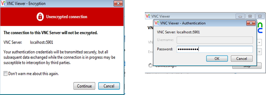 Oracle DBaaS 1z0-160 part 10 :VNC setup to connect directly to